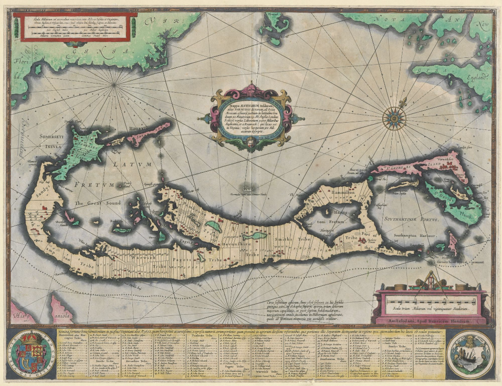 Whither the Fates Carry Us\': Bermuda goes Off the Map - Maps and ...